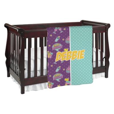 Pinata Birthday Baby Blanket (Personalized)
