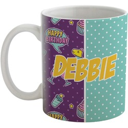 Pinata Birthday Coffee Mug (Personalized)