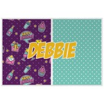 Pinata Birthday Laminated Placemat w/ Name or Text