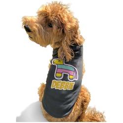 Pinata Birthday Black Pet Shirt - XL (Personalized)