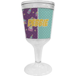 Pinata Birthday Wine Tumbler - 11 oz Plastic (Personalized)