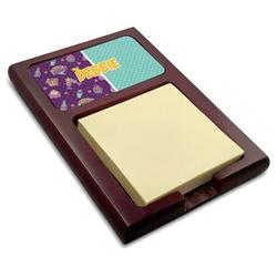 Pinata Birthday Red Mahogany Sticky Note Holder (Personalized)