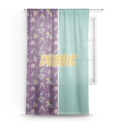 Pinata Birthday Sheer Curtains (Personalized)