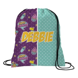 Pinata Birthday Drawstring Backpack (Personalized)