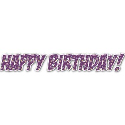 Pinata Birthday Name/Text Decal - Large (Personalized)