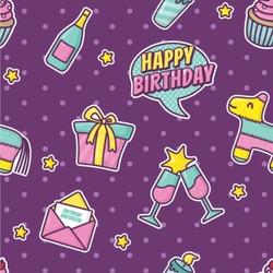 Pinata Birthday Wallpaper & Surface Covering
