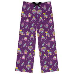 Pinata Birthday Womens Pajama Pants (Personalized)