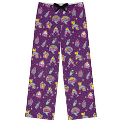 Pinata Birthday Womens Pajama Pants (Personalized)