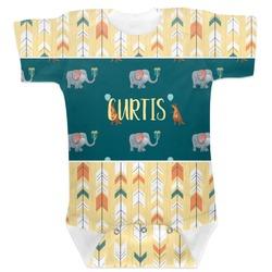 Animal Friend Birthday Baby Bodysuit (Personalized)