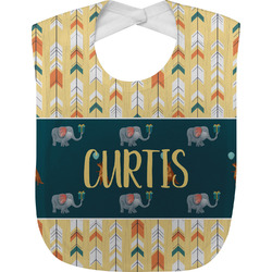 Animal Friend Birthday Baby Bib (Personalized)