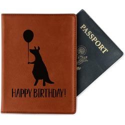 Animal Friend Birthday Leatherette Passport Holder (Personalized)