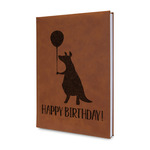 Animal Friend Birthday Leatherette Journal (Personalized)