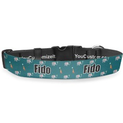 Animal Friend Birthday Deluxe Dog Collar (Personalized)