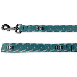 Animal Friend Birthday Deluxe Dog Leash - 4 ft (Personalized)