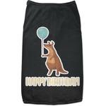 Animal Friend Birthday Black Pet Shirt (Personalized)