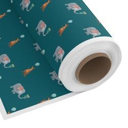 Animal Friend Birthday Custom Fabric by the Yard (Personalized)