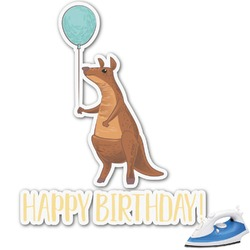 Animal Friend Birthday Graphic Iron On Transfer (Personalized)