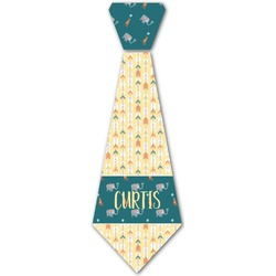 Animal Friend Birthday Iron On Tie (Personalized)
