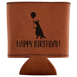 Animal Friend Birthday Leatherette Can Sleeve (Personalized)