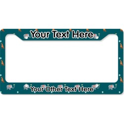 Animal Friend Birthday License Plate Frame (Personalized)