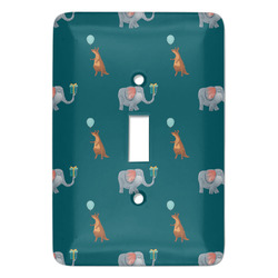 Animal Friend Birthday Light Switch Covers (Personalized)