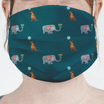 Animal Friend Birthday Face Mask Cover (Personalized)