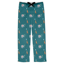 Animal Friend Birthday Mens Pajama Pants (Personalized)