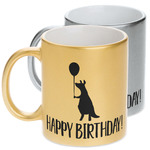 Animal Friend Birthday Metallic Mug (Personalized)