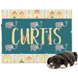 Animal Friend Birthday Minky Dog Blanket - Large  (Personalized)