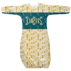 Animal Friend Birthday Newborn Gown - 3-6 (Personalized)