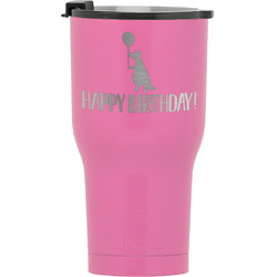 Animal Friend Birthday RTIC Tumbler - Pink (Personalized)