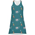 Animal Friend Birthday Racerback Dress (Personalized)