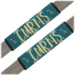 Animal Friend Birthday Seat Belt Covers (Set of 2) (Personalized)
