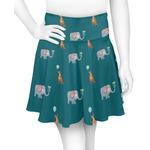 Animal Friend Birthday Skater Skirt (Personalized)
