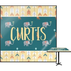 Animal Friend Birthday Square Table Top (Personalized)