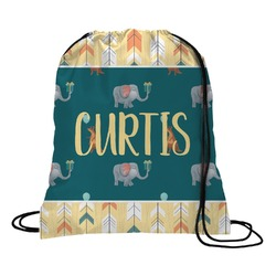 Animal Friend Birthday Drawstring Backpack (Personalized)