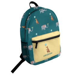 Animal Friend Birthday Student Backpack (Personalized)