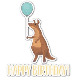 Animal Friend Birthday Graphic Decal - Custom Sized (Personalized)