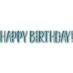 Animal Friend Birthday Name/Text Decal - Custom Sized (Personalized)