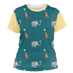 Animal Friend Birthday Women's Crew T-Shirt (Personalized)