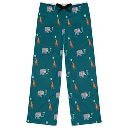 Animal Friend Birthday Womens Pajama Pants (Personalized)