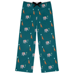 Animal Friend Birthday Womens Pajama Pants (Personalized)