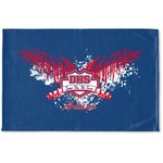 DHS Wings and Badge Woven Mat (Personalized)