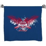 DHS Wings and Badge Full Print Bath Towel (Personalized)