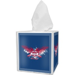 DHS Wings and Badge Tissue Box Cover (Personalized)