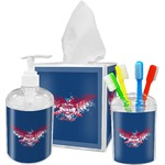 DHS Wings and Badge Bathroom Accessories Set (Personalized)
