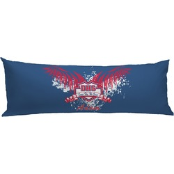DHS Wings and Badge Body Pillow Case (Personalized)