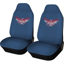 DHS Wings and Badge Car Seat Covers (Set of Two) (Personalized)