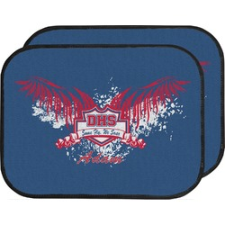 DHS Wings and Badge Car Floor Mats (Back Seat) (Personalized)