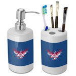 DHS Wings and Badge Bathroom Accessories Set (Ceramic) (Personalized)